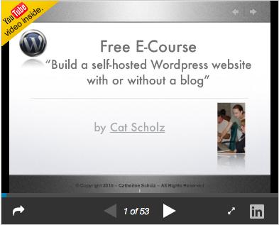 Free e-course handout